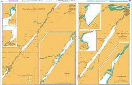 Admiralty Chart 1791 Caledonian Canal  - Click to view a larger image