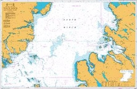 Admiralty Chart 1794 North Minch Southern Part  - Click to view a larger image