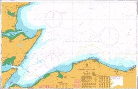Admiralty Chart 223 Dunrobin Point to Buckie  - Click to view a larger image