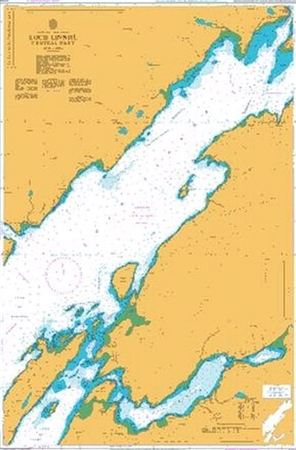 Admiralty Chart 2379 Loch Linnhe Central Part  - Click to view a larger image
