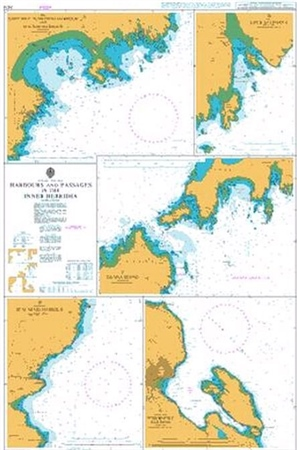 Admiralty Chart 2474 Harbours in the Inner Hebrides  - Click to view a larger image