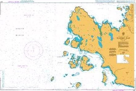 Admiralty Chart 2501 Summer Isles  - Click to view a larger image