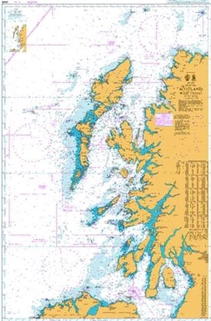 Admiralty Chart 2635 Scotland - West Coast  - Click to view a larger image