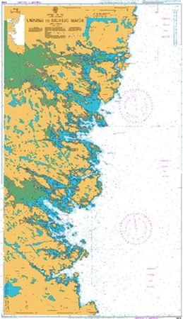 Admiralty Chart 2904 Usinish to Eigneig Mhor  - Click to view a larger image