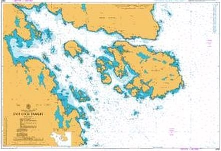 Admiralty Chart 2905 East Loch Tarbert  - Click to view a larger image