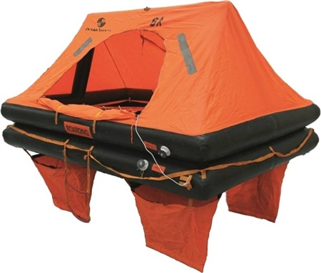 Ocean Safety Ocean Standard Liferaft  - Click to view a larger image