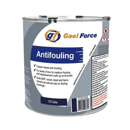 Gael Force Antifouling 2.5ltr  - Click to view a larger image