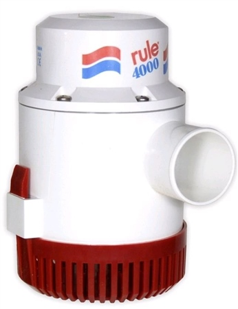 Rule 4000 Submersible Pump 24V DC  - Click to view a larger image