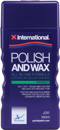 International Polish and Wax 500ml  - Click to view a larger image