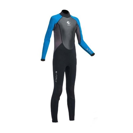 Gul Junior G-Force 3mm FL Wetsuit (Blue)  - Click to view a larger image
