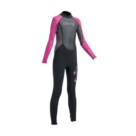 Gul Junior G-Force 3mm FL Wetsuit (Pink)  - Click to view a larger image