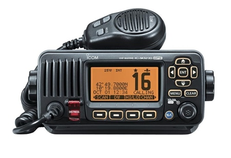 Icom IC-M323G Compact Fixed VHF/DSC Radio  - Click to view a larger image