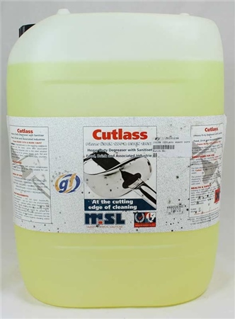 MSL Cutlass Heavy Duty Degreaser Sanitiser 20ltr  - Click to view a larger image