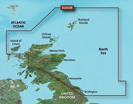 Garmin HXEU003R - North East Coast of Britain Bluechart G2  - Click to view a larger image