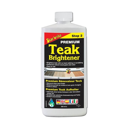 Starbrite Teak Brightener 500ml  - Click to view a larger image