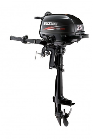 Suzuki 2.5hp 4-Stroke Outboard Engine - DF2.5L  - Click to view a larger image