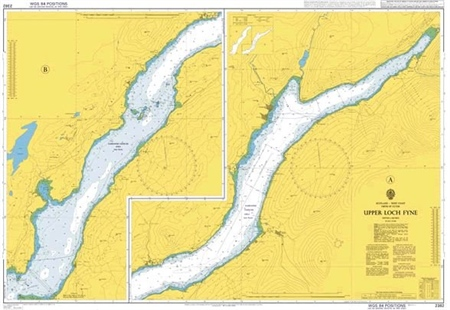 Admiralty Chart 2382 Upper Loch Fyne  - Click to view a larger image