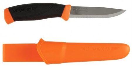 Morakniv Companion F Serrated Knife  - Click to view a larger image