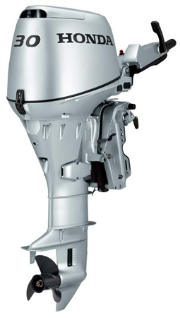 Honda 30hp 4-Stroke Outboard Engine - BF30LRTU  - Click to view a larger image