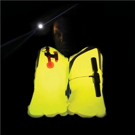 Spinlock Lume On Lifejacket bladder Illumination Lights  - Click to view a larger image