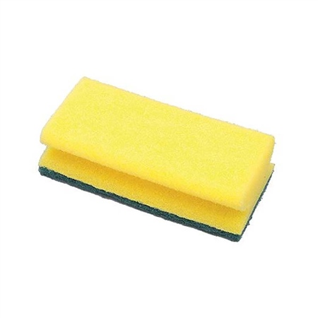 Gael Force Easy Grip Grooved Sponge Scourer  - Click to view a larger image