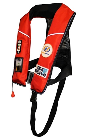 SeaStorm 170N Lifejacket - Automatic Harness  - Click to view a larger image