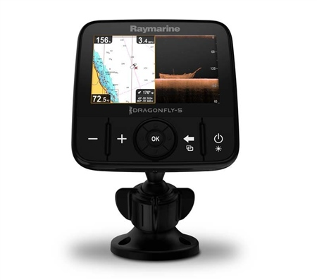 Raymarine Dragonfly 5Pro CHIRP DV Fishfinder/Plotter  - Click to view a larger image