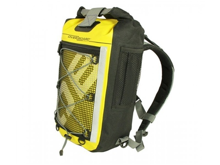 Overboard Waterproof Pro-Sports Backpack - 20Ltr Yellow (C1)  - Click to view a larger image