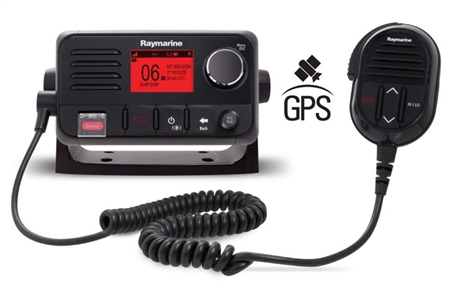 Raymarine Ray52 VHF Radio with GPS  - Click to view a larger image