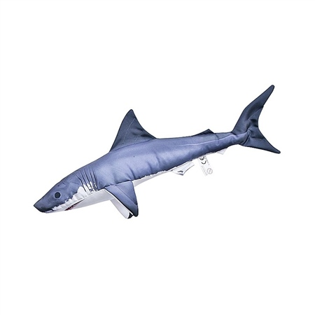 Nauticalia Shark Cushion  - Click to view a larger image