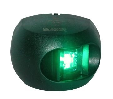 Aquasignal Series 34 LED Starboard Navigation Light  - Click to view a larger image