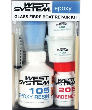 West System 105-K Glass Fibre Boat Repair Kit  - Click to view a larger image