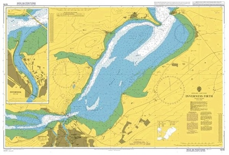 Admiralty Chart 1078 Inverness Firth  - Click to view a larger image