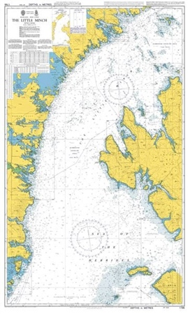 Admiralty Chart 1795 The Little Minch - Southern Part  - Click to view a larger image