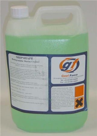 Gael Force Shipshape Deck/Surface Cleaner 5 Litre  - Click to view a larger image