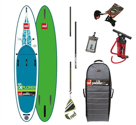 """Red Paddle 12'6"""" Explorer MSL Package  - Click to view a larger image"""