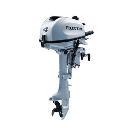 Honda 4hp 4-Stroke Outboard Engine - BF4LHNU  - Click to view a larger image