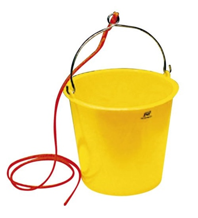Plastimo Plastic Bucket With Rope - 10 Litre