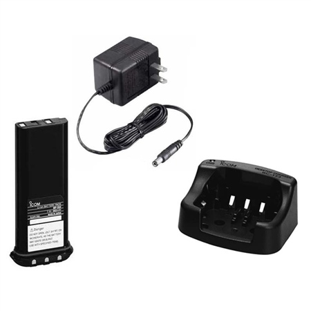 Icom Li-Ion Battery Upgrade Pack  - Click to view a larger image