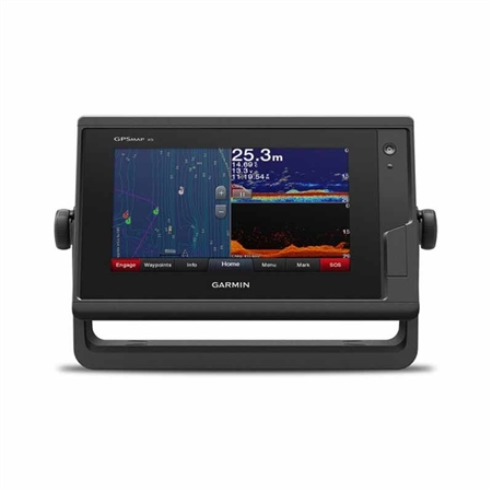 Garmin GPSMAP 722xs 7 inch ClearVu Chartplotter  - Click to view a larger image