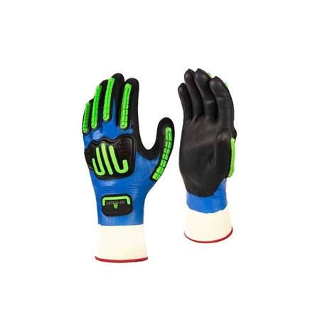 Showa 377-IP Impact Gloves (Pair)  - Click to view a larger image