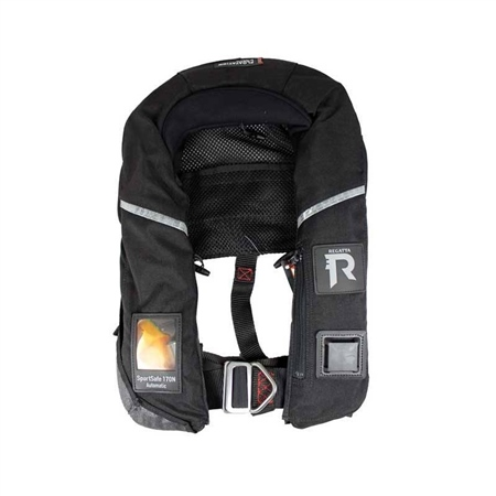 Regatta of Norway Sportsafe Auto Lifejacket 150N  - Click to view a larger image