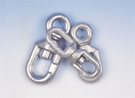 Gael Force Galvanised Chain Swivels  - Click to view a larger image