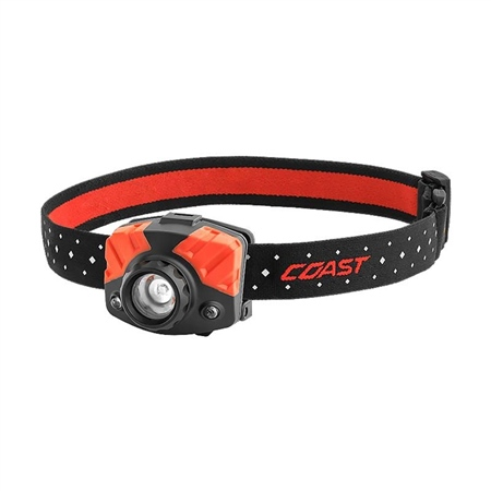 Coast FL75 Dual Colour Pure Beam Focus Head Torch  - Click to view a larger image