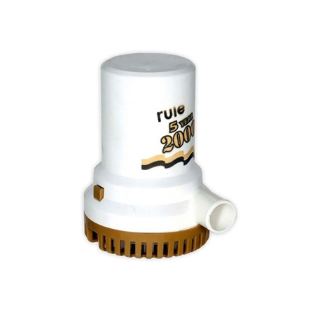 Rule 2000 Gold Submersible Bilge Pump  - Click to view a larger image