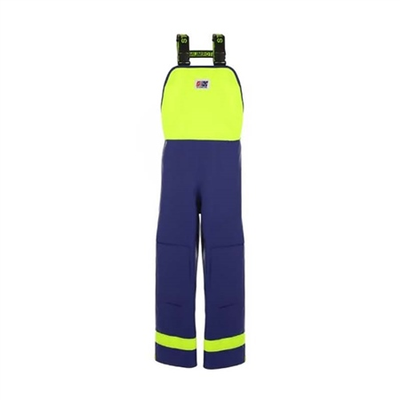 Stormline Crew 640 PVC Fishing Waterproofs Bib Overalls  - Click to view a larger image