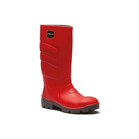 Integra Fortis Red Wellington Boot  - Click to view a larger image