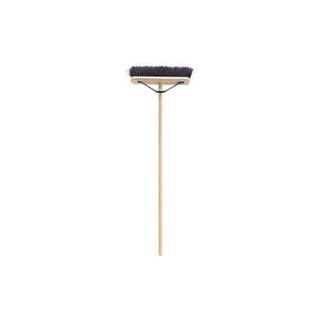 Gael Force Stiff Bassine Brush with Handle  - Click to view a larger image