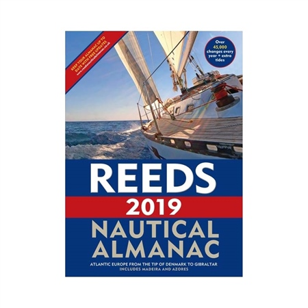 Reeds Nautical Almanac 2019  - Click to view a larger image