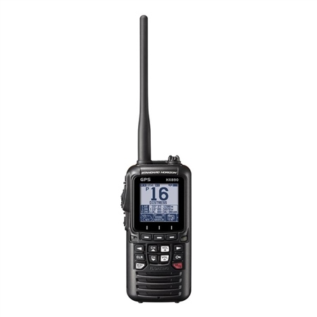 Standard Horizon HX890E DSC VHF/GPS Handheld Radio  - Click to view a larger image